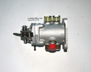BDA 6 mm 4 cylinder single shuttle 54732775(2)